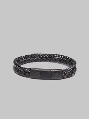 Smycken - by Billgren Bracelet 8183 Black