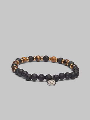 by Billgren Bracelet 8173 Tigers eye/Black