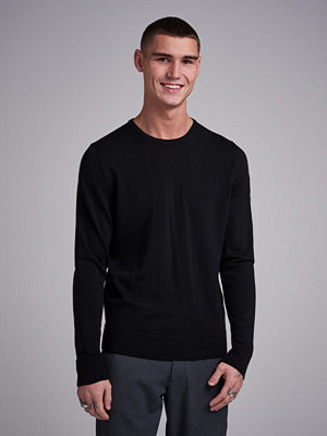 Tröjor & cardigans - Calvin Klein Superior Wool CN Pullover Perfect Black