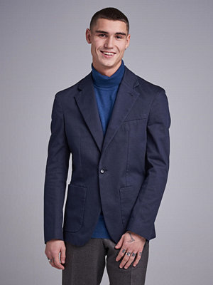 Kavajer & kostymer - Filippa K Dean Cotton Suit Jacket 1082 Dark navy