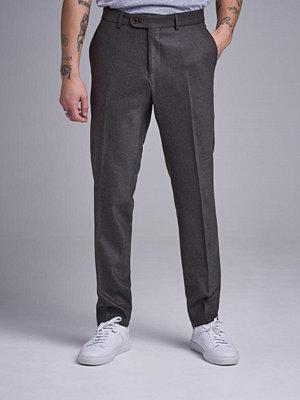 Byxor - Morris Rodney Flannel Trouser 80 Brown