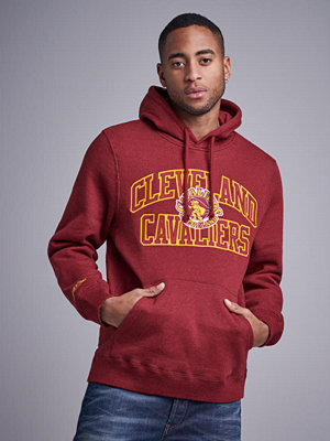 Street & luvtröjor - Mitchell & Ness Playoff Win Hoody Cleveland Cavaliers red