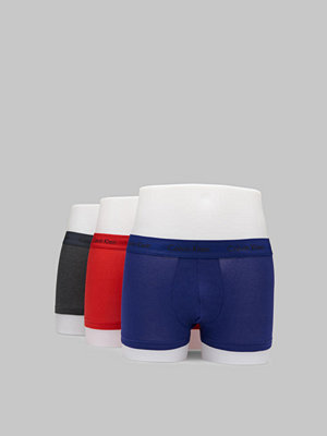 Calvin Klein Underwear 3-pack Trunk Lowrise Cotton Stretch HWB Mix