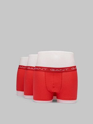 Gant 3-pack Solid Trunks 610 Red