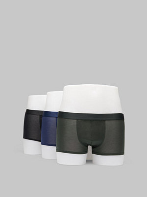 CDLP 3-pack Boxer Trunk Black/Army Green/Navy Blue