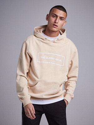 Street & luvtröjor - The Classy Issue Classic Hoodie Sand