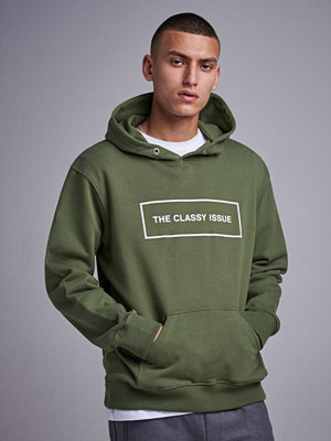 Street & luvtröjor - The Classy Issue Classic Hoodie Green