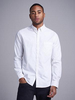 Skjortor - Studio Total Melker Oxford Shirt White