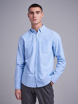 Skjortor - Studio Total Melker Oxford Shirt Light Blue
