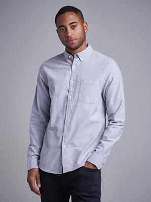 Skjortor - Studio Total Melker Oxford Shirt Grey