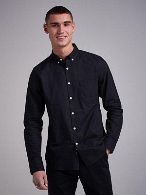 Skjortor - Studio Total Melker Oxford Shirt Black