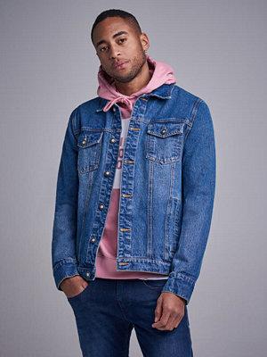 Jeansjackor - William Baxter Denim Jacket Mid Blue
