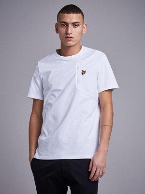 Lyle & Scott Casuals Fabric Mix T-Shirt 626 White