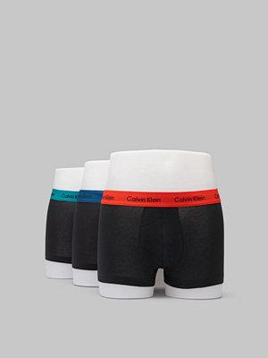 Calvin Klein Underwear 3-pack Trunk Lowrise Cotton Stretch KKH Black