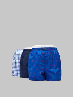 Polo Ralph Lauren Woven Boxershort 3 PKT 023 Blue/ Navy /Blue Check