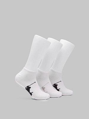 Polo Ralph Lauren Big Ponny 3PKT Ancle Sock 001 White