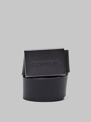 Calvin Klein Adj Plaque Belt 001 Black