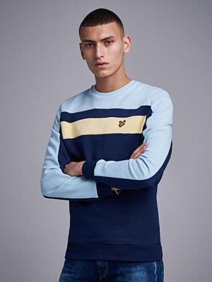 Tröjor & cardigans - Lyle & Scott Colur Block Sweatshirt Z99 Navy