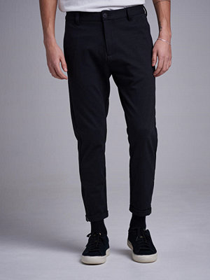 Byxor - Gabba Pisa Jersey Cropped Black