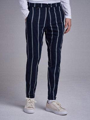 Byxor - Gabba Pisa Chunky Stripe Navy Stripe