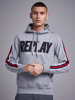 Replay RBJ Original Hoodie Light Grey Melange