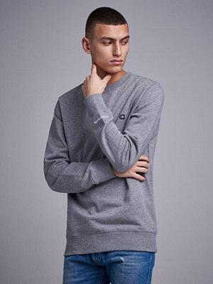 Calvin Klein Jeans CKJ Chest Embroidery Crewneck 039 Light Grey