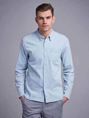 Skjortor - Levi's 1 Pocket Shirt Super White Light