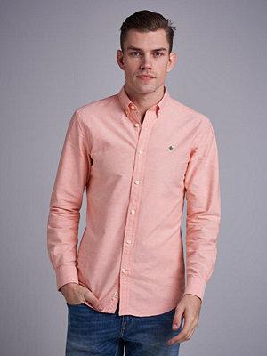 Skjortor - Morris Douglas Oxford Shirt 20 Orange