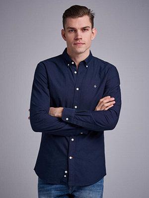 Skjortor - Morris Douglas Oxford Shirt 60 Navy