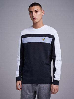 Lyle & Scott Colur Block Sweatshirt 572 True Black