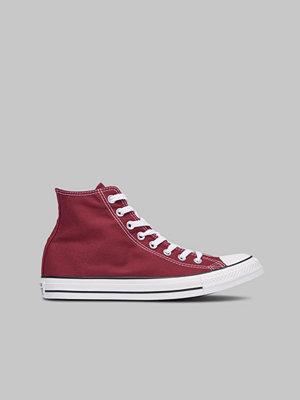 Sneakers & streetskor - Converse All Star HI Maroon