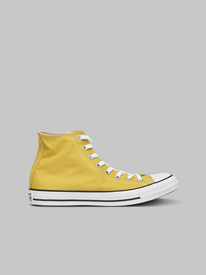 Sneakers & streetskor - Converse All Star HI Bold Citron