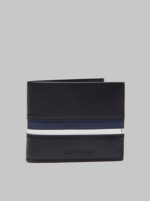 Calvin Klein Stripe Slimfold Black