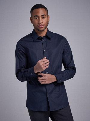 Skjortor - Filippa K James Stretch Shirt Dk Navy