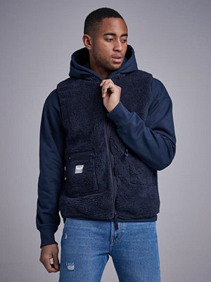 Resteröds Fleece Vest Navy
