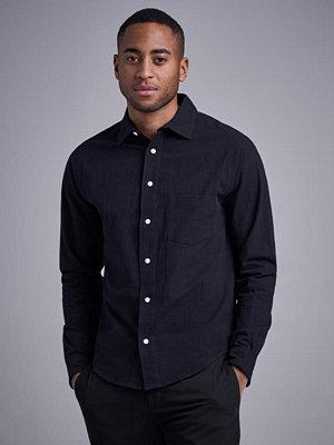 Skjortor - Resteröds Regular Shirt Black