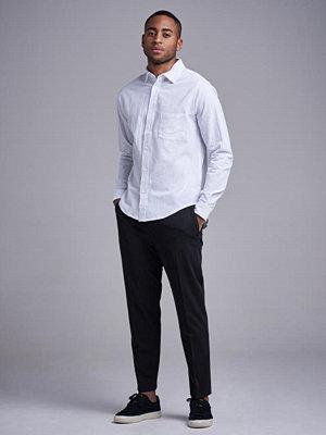 Skjortor - Resteröds Regular Shirt White