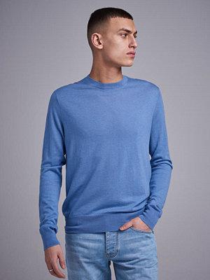 Tröjor & cardigans - Filippa K Silkmix Crewneck Sweater Paris Blue