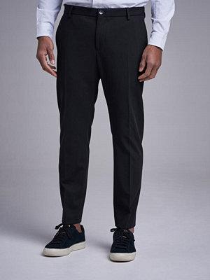 Byxor - Calvin Klein Techno Gabardine Travel Pant Perfect Black