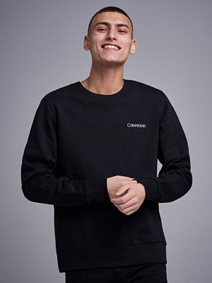 Tröjor & cardigans - Calvin Klein Embroidery Sweatshirt Perfect Black