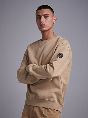 Tröjor & cardigans - Wacay Badge Sweatshirt 109 Sand