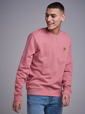 Tröjor & cardigans - Lyle & Scott Crew Neck Sweatshirt Z463 Pink Shadow