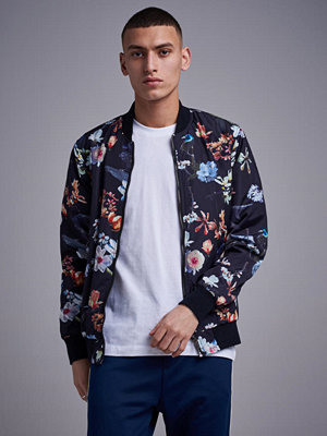 William Baxter Flower Bomber Jacket