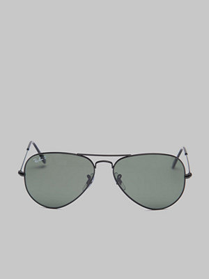 Solglasögon - Ray-Ban Aviator RB3025 Black/Green