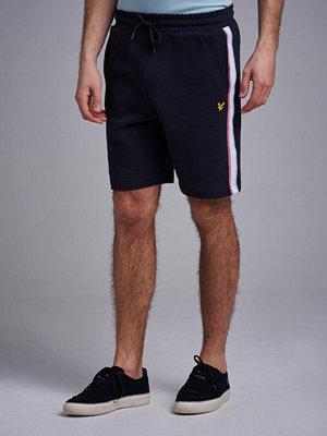 Shorts & kortbyxor - Lyle & Scott Sweat Shorts Stripe 572 True Black