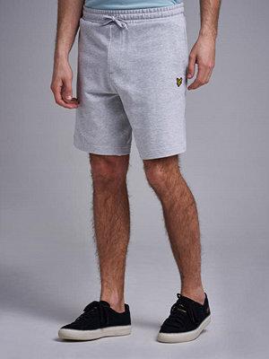 Shorts & kortbyxor - Lyle & Scott Sweat Shorts D24 Light Grey Marl