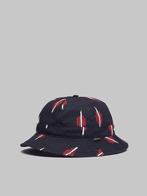 Brixton Banks II Bucket Hat Black/Red