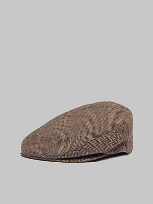 Kepsar - Brixton Hooligan Snap Cap Brown Khaki