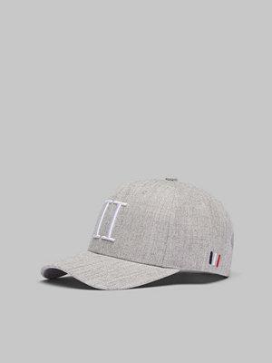 Kepsar - Les Deux Baseball Cap II Light Grey/White
