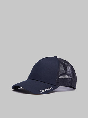 Kepsar - Calvin Klein Trucker Cap Navy
